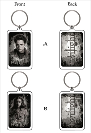 Edward Bella Lucite Keyring | Accessories