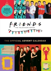 Friends - The Official Advent Calendar (2021 Edition) | Hardback Book
