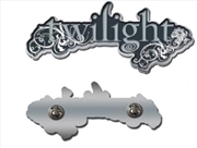 Twilight Logo Lapel Pin | Merchandise