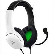 XBX Xbox LVL 40 Wired Headset White | XBox