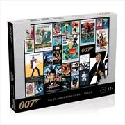 James Bond - All Movies Poster 1000 piece Jigsaw Puzzle | Merchandise