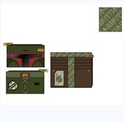 Loungefly - Star Wars - Boba Fett Flap Purse   Apparel