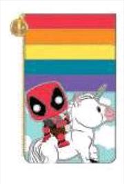 Loungefly - Deadpool - Unicorn Rainbow 30th Card Holder | Apparel