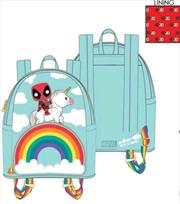 Loungefly - Deadpool - Unicorn Rainbow 30th Mini Backpack | Apparel