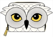 Loungefly - Harry Potter - Hedwig Howler Zip Purse   Apparel