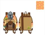 Loungefly - Star Wars: The Mandalorian - Bantha Ride Mini Backpack | Apparel