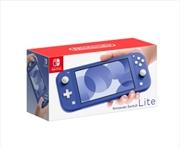 Nintendo Switch Console - Lite Blue | Nintendo Switch