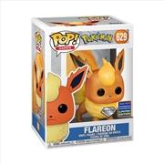 Pokemon - Flareon (Diamond Glitter) Pop! WC21 RS | Pop Vinyl