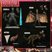 Godzilla: Destroy All Monsters - Round One 5 Points XL Boxed Set | Merchandise