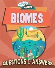CuriousNature -Biomes | Paperback Book