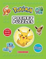Pokémon Pocket Puzzles | Paperback Book