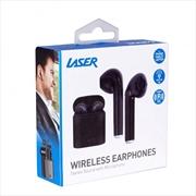 Laser Airbud Wireless - Black   Accessories