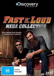 Fast N' Loud - Season 1-4   Mega Collection   DVD