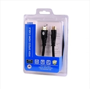 2 meter 4K HDMI & 3D TV Cable 2.0M | Accessories