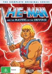 He-Man And The Masters Of The Universe | Complete Series | DVD