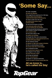 Top Gear Stig Quotes Poster | Merchandise