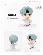 BTS Tinytan Monitor Figurine - Suga | Merchandise