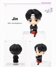 BTS Tinytan Monitor Figurine - Jin | Merchandise