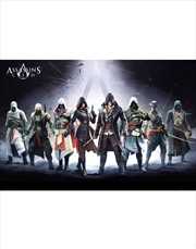 Assassins Creed Characters Poster | Merchandise