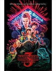 Stranger Things 3 One Sheet Poster | Merchandise