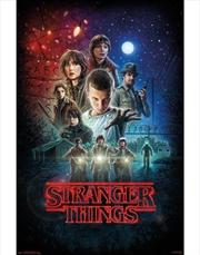 Stranger Things One Sheet Poster | Merchandise