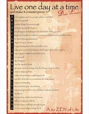 A To Zen Dalai Lama Poster | Merchandise