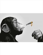 Steez Smoking Chimp Poster | Merchandise