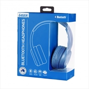 Laser Bluetooth Headphone On-Ear with Hands-Free Mykonos Blue   Accessories