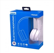 Laser Foldable Wireless Bluetooth Stereo Headphones Bright White   Accessories