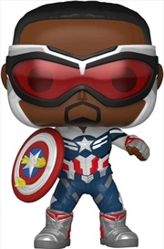 The Falcon and the Winter Soldier - Capt America Year of the Shield US Exclusive Pop! Vinyl [RS]   Pop Vinyl
