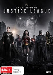 Zack Snyder's Justice League | DVD