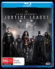 Zack Snyder's Justice League | Blu-ray