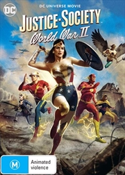 Justice Society - World War II | DVD
