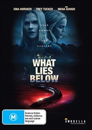 What Lies Below | DVD