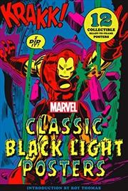 Marvel Classic Black Light Collectible Poster Portfolio | Hardback Book
