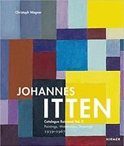 Johannes Itten Vol. Ii   Hardback Book
