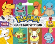 Pokemon Giant Activity Pad | Paperback Book