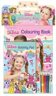 Love Diana Activity Bag | Paperback Book