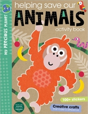 Helping Save Our Animals Activity Book | Paperback Book
