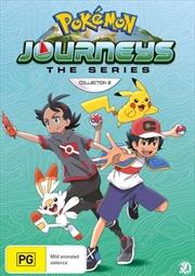 Pokemon Journeys - Season 23 - Collection 2 | DVD