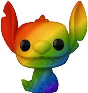 Lilo & Stitch - Stitch Rainbow Pride Pop! Vinyl | Pop Vinyl