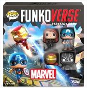 Funkoverse - Marvel 100 4-Pack | Pop Vinyl