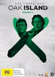 Curse Of Oak Island - Season 6, The | DVD