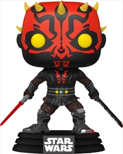 Star Wars: The Clone Wars - Darth Maul with Two Lightsabers US Exclusive Pop! Vinyl [RS] | Pop Vinyl