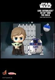 Star Wars: The Mandalorian - Luke, R2-D2 & The Child Cosbaby | Merchandise
