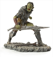 The Lord of the Rings - Orc Swordsman 1:10 Scale Statue | Merchandise