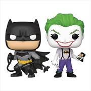 Batman - Batman & Joker (White Knight) US Exclusive Pop! Vinyl 2-Pack | Pop Vinyl