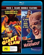Giant Claw / The Werewolf | Double Pack, The | Blu-ray