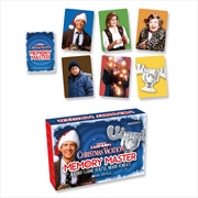 Memory Master Card Game - Christmas Vacation Edition | Merchandise