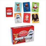 Memory Master Card Game - Rudolph The Red Nosed Reindeer  Edition | Merchandise